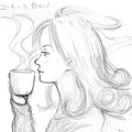 Photos: コーヒーを飲む人