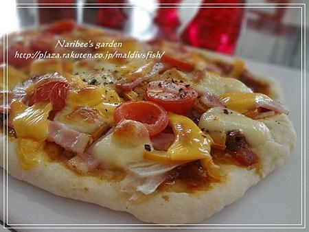 お昼ピザ2