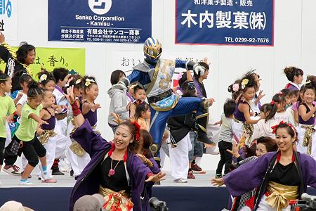 舞神 双嵐龍(ソーランドラゴン)_04 - かみす舞っちゃげ祭り2011