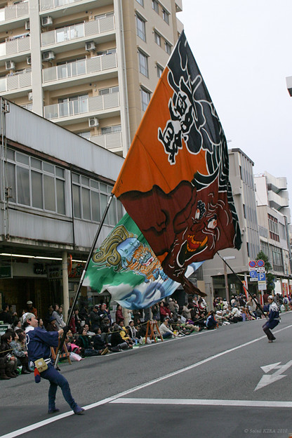 写真: 上總組_10 - よさこい東海道2010