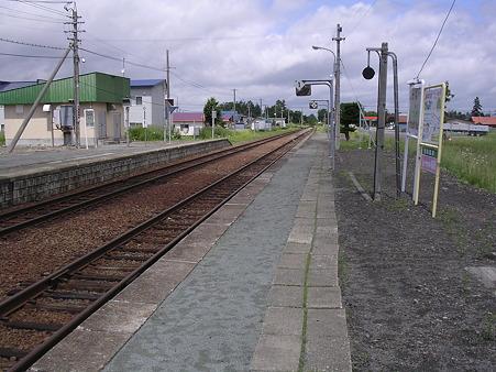 剣淵駅ホーム1