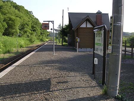 細岡駅ホーム2