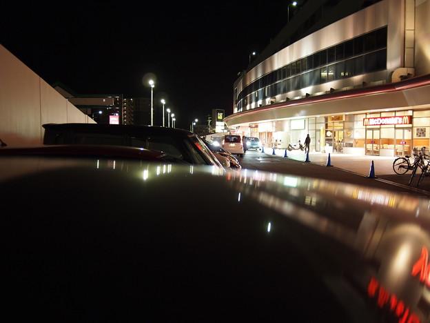 OLYMPUS E-PL2で撮影した夜間の屋外