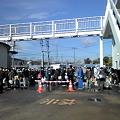Photos: 泉浄水場。晴れ。9時現在30 分待ち。