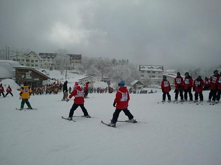 桶川中学校スキー教室@菅平高原2012-01-30