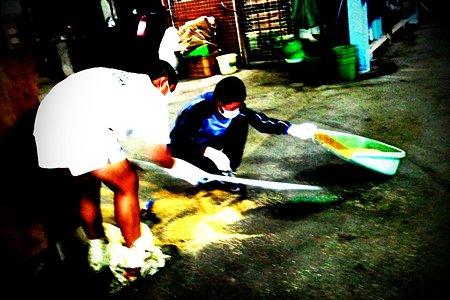 伊丹R.S 馬小屋掃除 (5)
