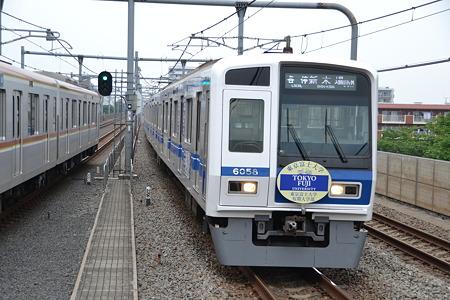 西武6000系@中村橋駅