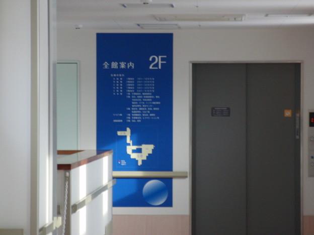 E病棟(男女混合閉鎖病棟)へのエレベーター