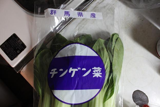 群馬のチンゲン菜