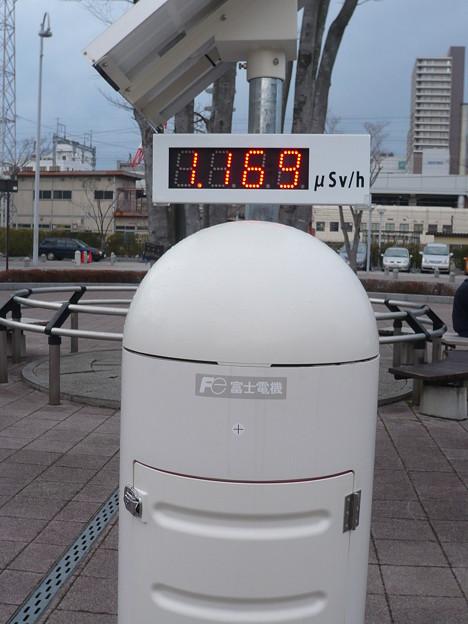 福島県放射線量2012/03/11