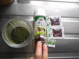 2012年2月28日のお昼ご飯の食材