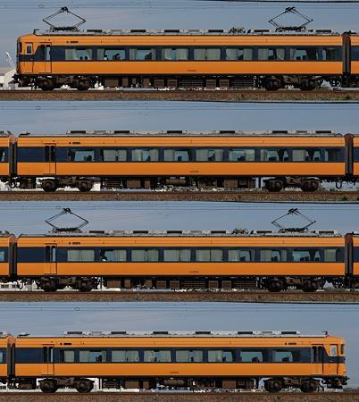 近鉄12400系12402F(NN02)海側側面 2011.11.13