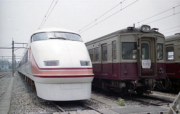 Photos: 100系 と 57型