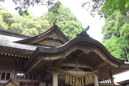 高千穂神社・拝殿5