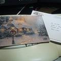 写真: バージニア州から届いたクリスマスカード