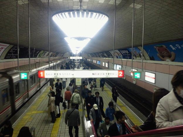 地下鉄心斎橋駅(1)