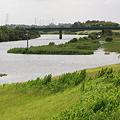 Photos: 増水する小貝川