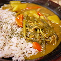 Photos: 元祖横浜海軍カレーフレークを使った残り物野菜カレー