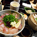 Photos: 粋 丸新・寒ボラのヅケ丼