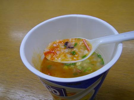 Asahi スープごはん シーフード 激辛version