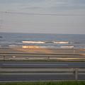 Photos: 20110726_九十九里・いさりび食堂の窓から見える九十九里浜