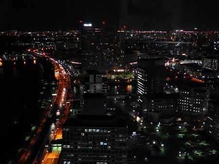 ヤフードーム方面の夜景