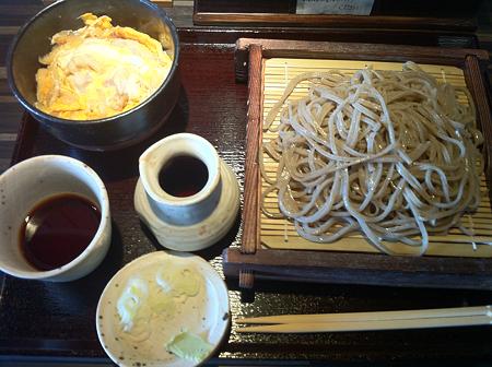 三気粒 ランチセット(せいろとミニ親子丼)