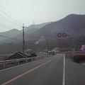 写真: 8時20分R176の店舗前 三田市藍本の道路状況です>>>お気をつけてご来店ください>にしら米穀店