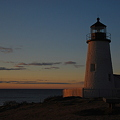 Photos: The Lighthouse in Morning Light 1-8-12