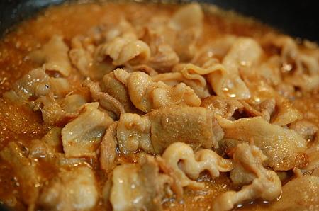 豚バラ肉の和風煮込み