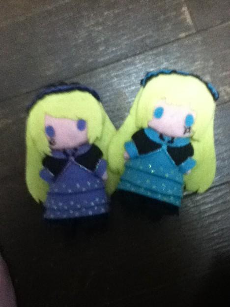 オルタンシアとヴィオレット