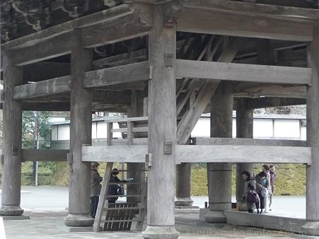 120214-建長寺 三門 (11)