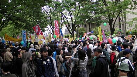 渋谷 原発やめろデモ 20110507 (4)