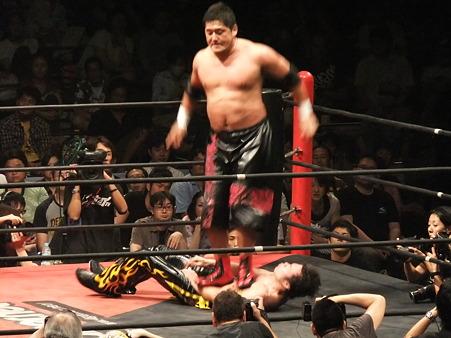 DDT 両国ピーターパン2011 〜二度あることは三度ある〜 KO-D無差別級選手権 石川修司vsKUDO (10)