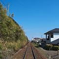 宇宿駅方面
