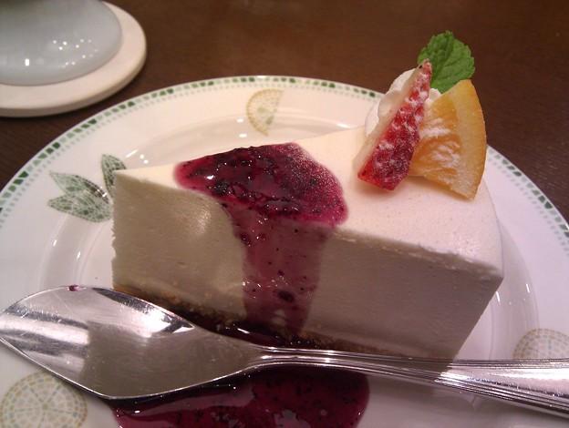 写真: レアチーズケーキ