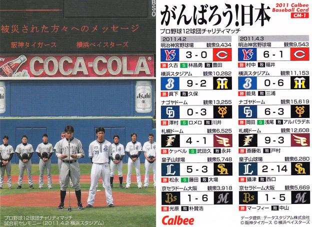 プロ野球チップス2011CM-1がんば...