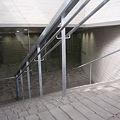 写真: 東京工業大学 新附属図書館 地下エントランス