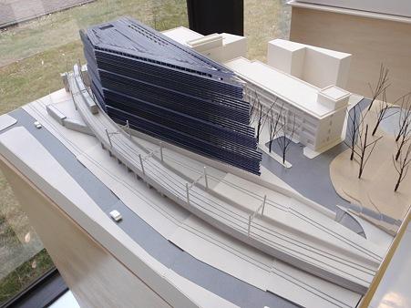 東京工業大学 エネルギー環境イノベーション棟 完成模型