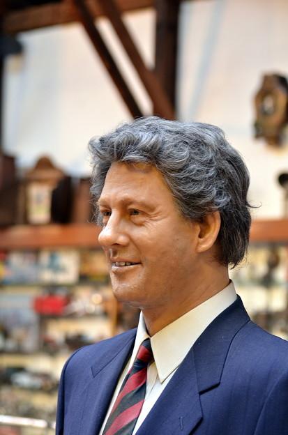 ビル・クリントン(の、ろう人形?)
