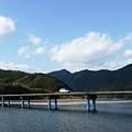 写真: 一本橋走行