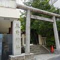 Photos: 鳥居と社号標-熊野神社 (港区麻布台)