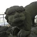 写真: 狛犬-頼政神社 (群馬県高崎市宮元町)