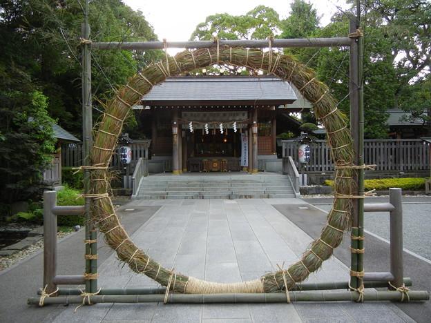 Photos: 茅の輪-神明社 (横浜市保土ケ谷区神戸町 107)