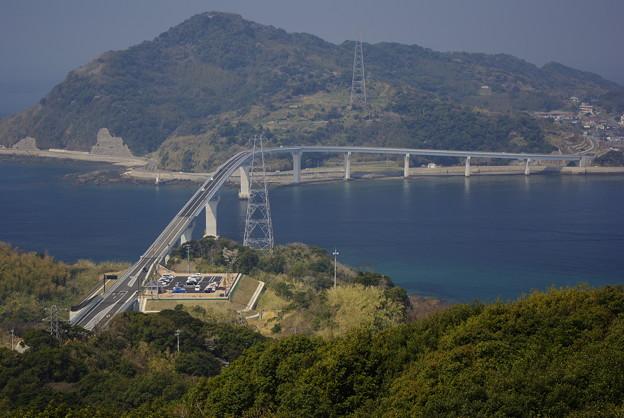 展望台より伊王島大橋