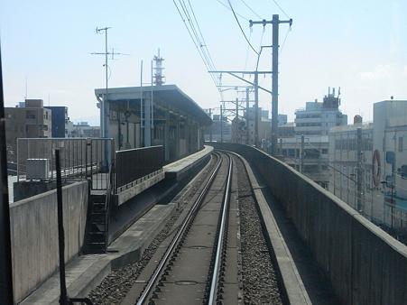 大阪環状線の車窓(弁天町→天王寺)5