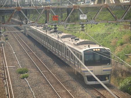 E217系横須賀線(東神奈川)