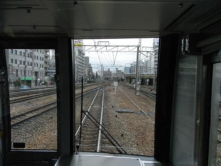 321系東海道本線の車窓(新大阪→大阪)1
