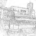 写真: 川西阪急 #sketch365