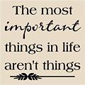 Photos: most important things